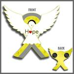 Hope 2019 Pediatric Brain Cancer Awareness Pin