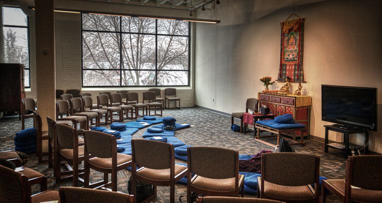 Tergar Meditation Community meditation space