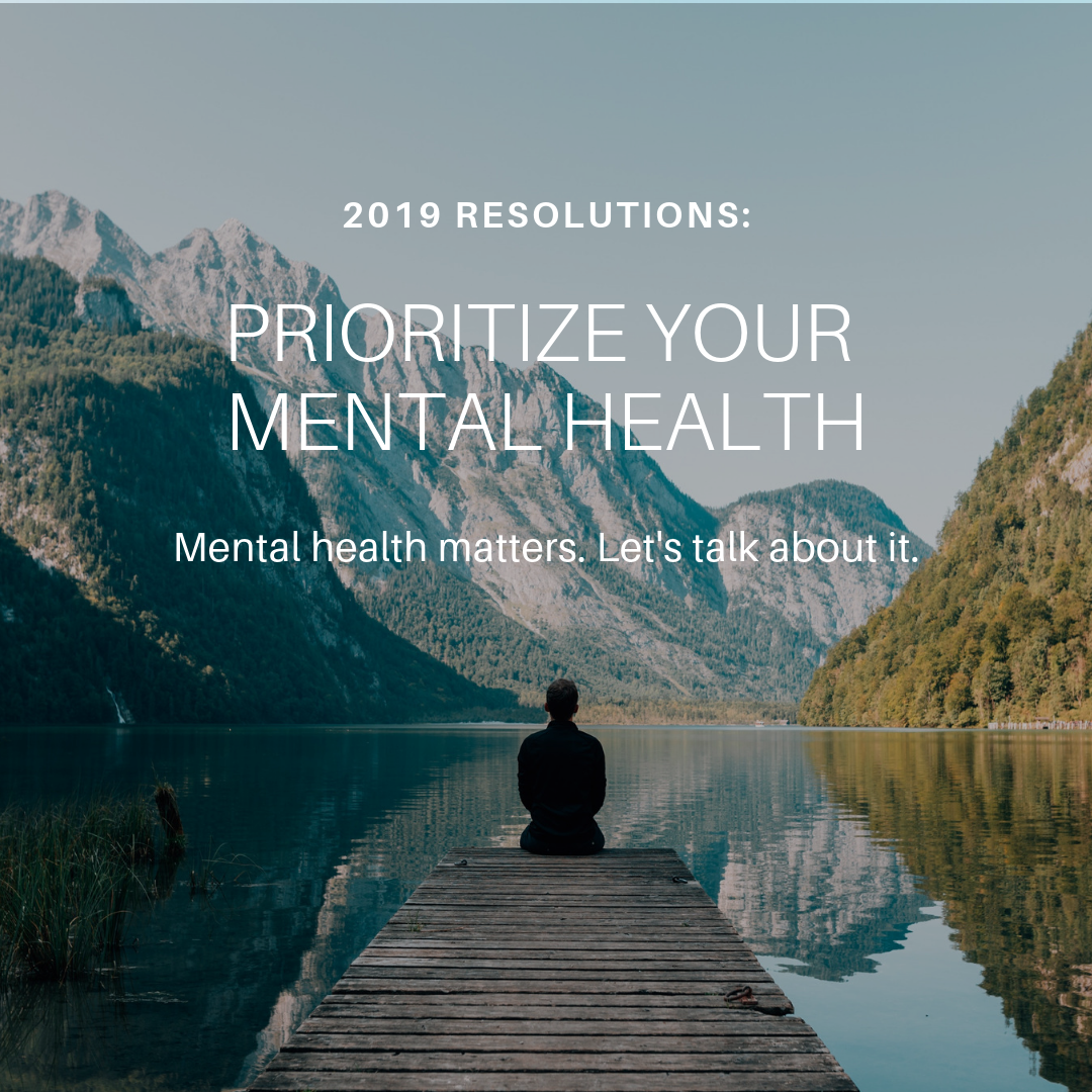 2019 Mental Health Resolutions