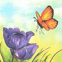 Watercolor: The Free Flow of Letting Go at Transformations Spirituality Center