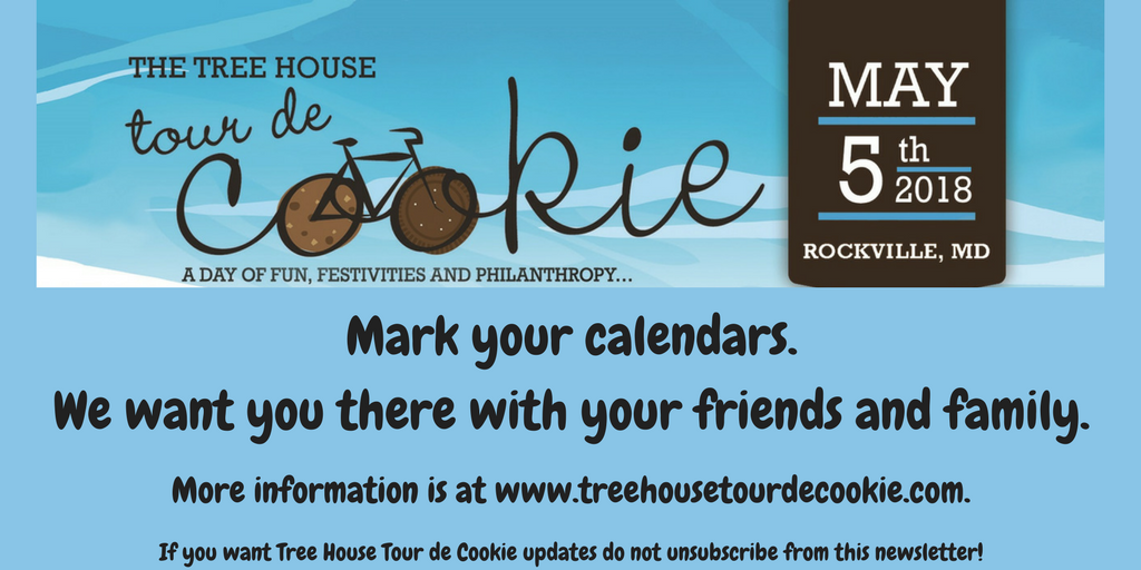Tree House Tour de Cookie May 5, 2018