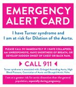 TSSUS Emergency Alert Card