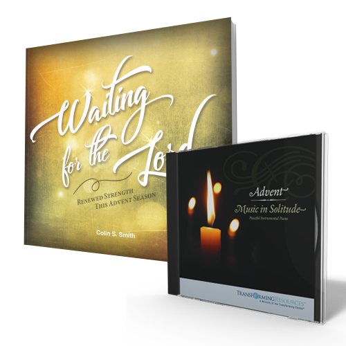 Waiting for the Lord book + Advent-Music in Solitude CD