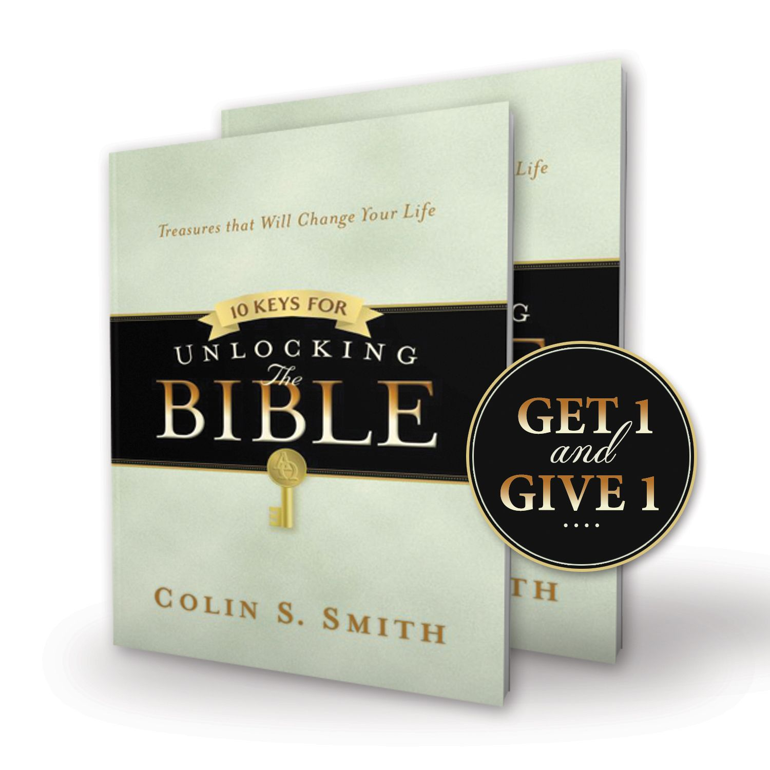 2 copies of 10 Keys for Unlocking the Bible Book – 1 to Get and 1 to Give Away