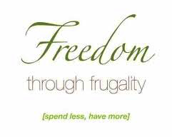 Freedom through frugality book cover