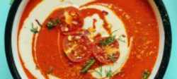 Creamy Red Pepper & Tomato Soup