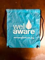 Well Aware Drawstring Tote