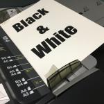 Copy/Print - Black & White Page
