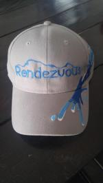 Blue/Gray Splash Rendezvous Cap