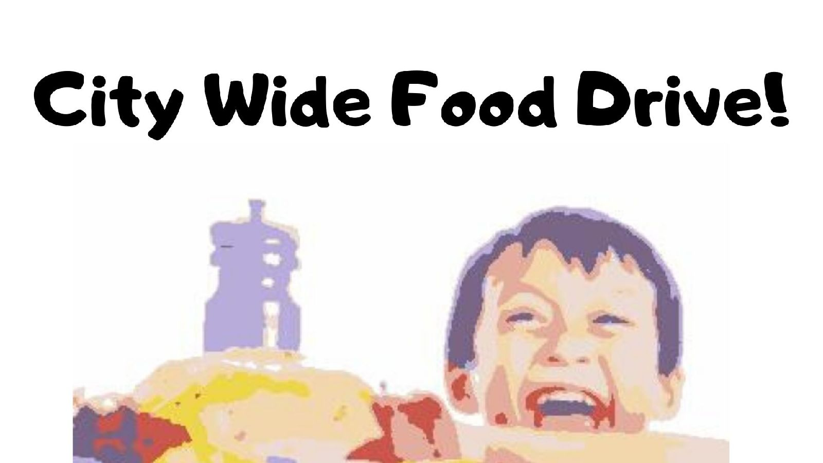 City Wide Food Drive - Virtually!